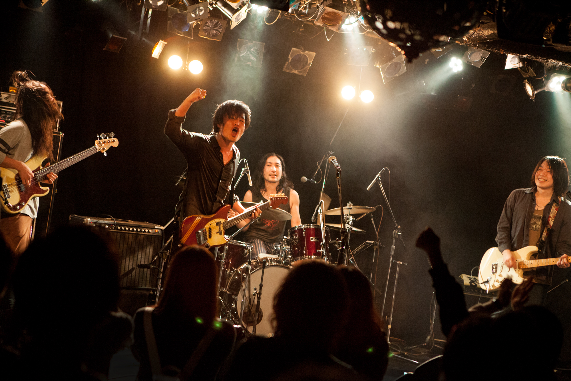 THE BLONDIE PLASTIC WAGON 20160429 shimokitazawa CLUB Que